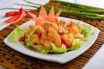 Fried Prawn in Special Thai Sauce